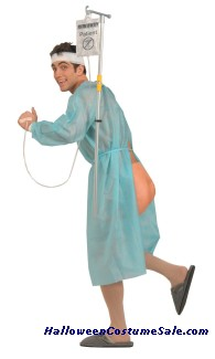 RUNAWAY PATIENT ADULT COSTUME