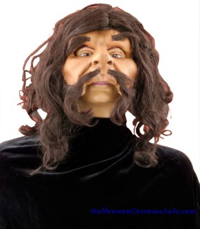 CAVEMAN MASK WITH HAIR
