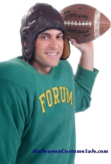 VINTAGE ADULT FOOTBALL HELMET