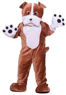 BULL DOG MASCOT ADULT COSTUME