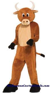 BULL BRUTUS THE MASCOT ADULT COSTUME