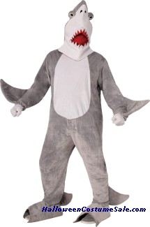 THE MASCOT SHARK CHOMPER ADULT COSTUME