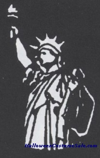 STAINLESS STENCIL STATUE OF LIBERTY