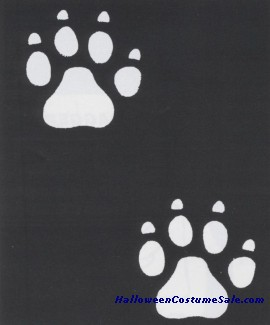 STENCIL PAW NO CLAWS