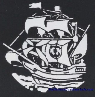 EARLY AMERICAN SAILING SHIP STENCIL
