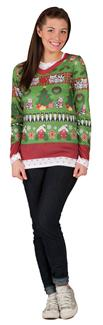 LADIES UGLY CHRISTMAS ADULT COSTUME
