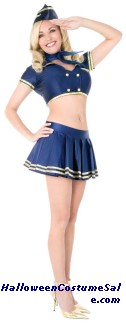 PLAYBOY CLASSIC STEWARDESS ADULT COSTUME