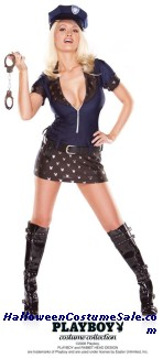 PLAYBOY POLICE ADULT COSTUME