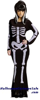LACE SKELETON ADULT COSTUME