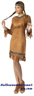 AMERICAN INDIAN WOMAN ADULT COSTUME