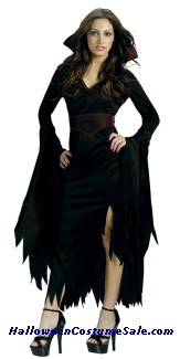 GOTHIC VAMP ADULT COSTUME
