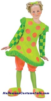 LOLLI THE CLOWN CHILD COSTUME