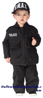 AUTHENTIC SWAT TODDLER COSTUME