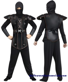 NINJA WARRIOR CHILD COSTUME
