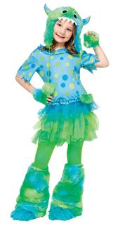 MONSTER MISS CHILD COSTUME