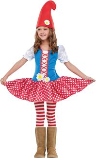 GNOME GIRL CHILD/TODDLER COSTUME