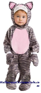 GREY STRIPE KITTEN INFANT COSTUME