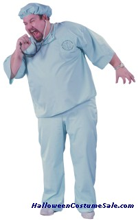 DOCTOR DOCTOR ADULT COSTUME - PLUS SIZE