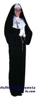 MOTHER SUPERIOR COSTUME, PLUS SZ
