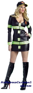 HOT FIRE LADY ADULT COSTUME