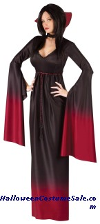 BLOOD VAMPIRESS ADULT COSTUME
