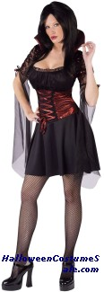 TWILIGHT VAMPIRESS ADULT COSTUME