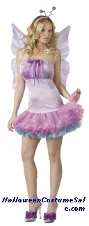 Fluttery Butterfly Adult Costume