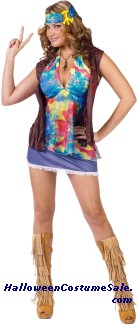 Hippie Summer Of Love Adult Costume