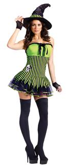 ROCKIN WITCH ADULT COSTUME