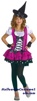 SUGAR N SPICE WITCH CHILD COSTUME