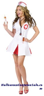 Nurse Say Ahhh Adult Costume