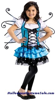 TURQUOISE FAIRY CHILD COSTUME