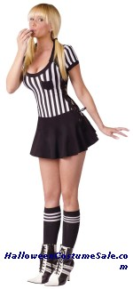 Racy Referee Adult Costume