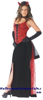 DEVILS KISS ADULT COSTUME