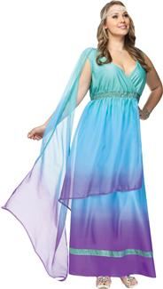 SEA QUEEN PLUS SIZE ADULT COSTUME