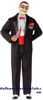 Ventriloquist Demented Dummy Adult Costume