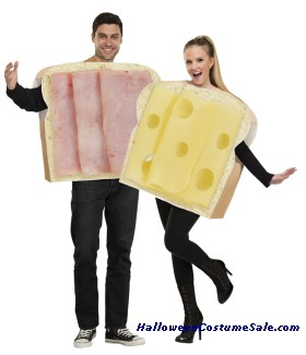 HAM AND SWISS COUPLE ADULT COSTUME