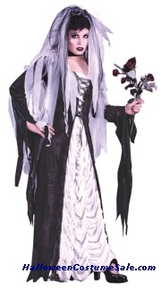 BRIDE OF DARKNESS ADULT COSTUME