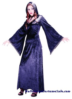 COUNTESSA HOODED ROBE ADULT COSTUME
