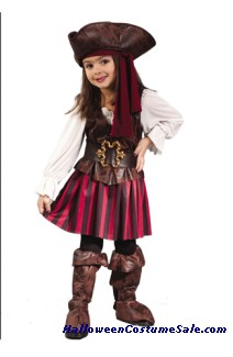 HIGH SEAS PIRATE TODDLER COSTUME