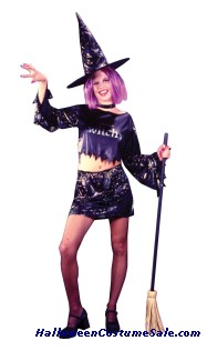 LITTLE WITCH TEEN COSTUME