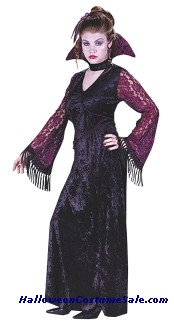 GOTHIC LACE VAMPIRE TEEN COSTUME