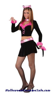 PURR-FECT LADY TEEN COSTUME