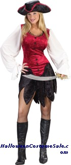 SEXY PIRATE LADY ADULT COSTUME