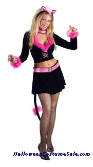 PURR-FECT LADY ADULT COSTUME