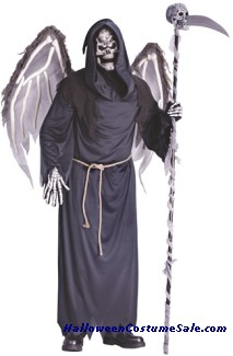 WINGED REAPER COSTUME, ADULT