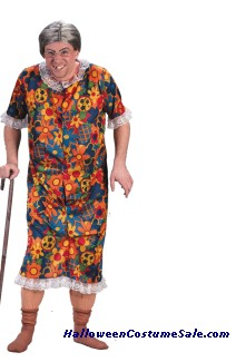 GROPPIN GRANNY ADULT COSTUME