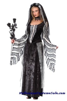 BLACK ROSE SPIRIT ADULT COSTUME