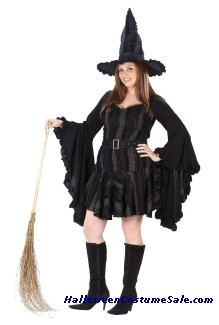 STITCH WITCH ADULT COSTUME - PLUS SIZE