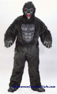 GORILLA SUIT ADULT COSTUME - PLUS SIZE